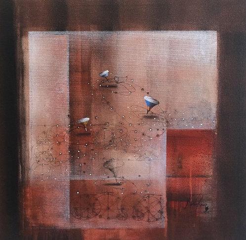 Surrealism Painting - Jose Cordova - El Parque