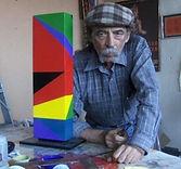 hard edge artist esteban castillo dgallerie art gallery st petersburg
