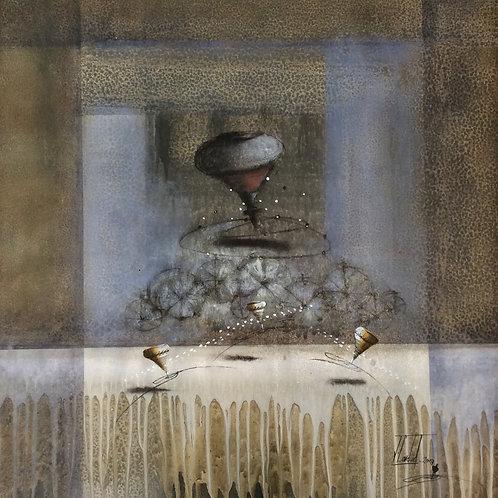 Surrealism Painting - Jose Cordova - Tiempo Inolvidable