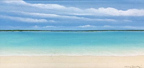 Beach Painting - Clelia Benitez - Los Roques