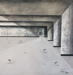 Surrealism Painting - Jose Cordova - Ara