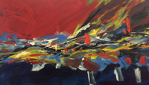 Abstract Painting - Juan Romano - Evolucion 2