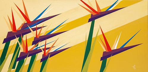 Birds of Paradise Flock Together by Felix Burgos