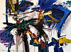 Abstract Painting - Ricardo Reyes - Unti