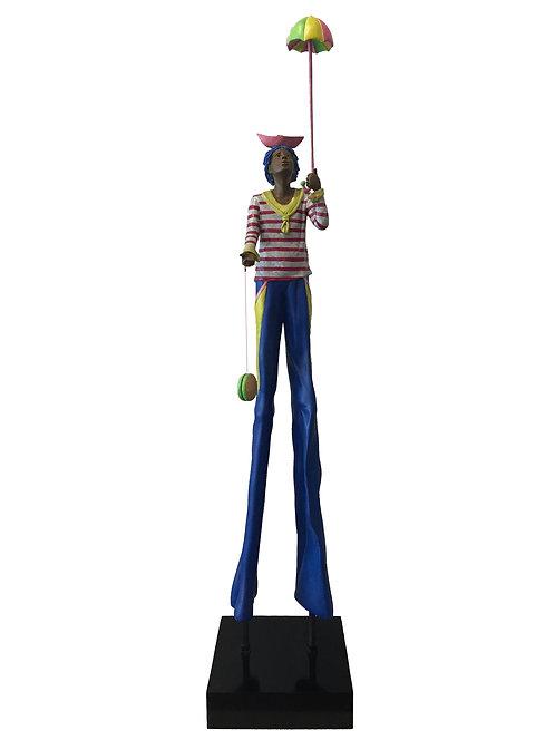 Contemporary Sculpture - Dora Gabay - Stilt Walker