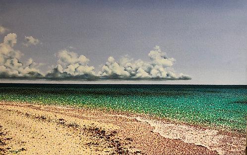 Pointillism Painting - Eli Pimentel - Los Roques