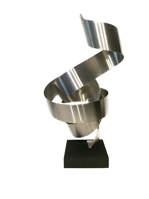 Contemporary Aluminum Sculpture - Marcos Garcia - Fantasia
