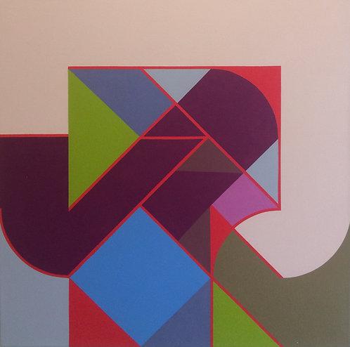 Hard Edge Painting - Esteban Castillo - Construccion Programada