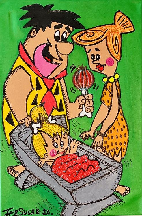 The Flintstones by Fer Sucre