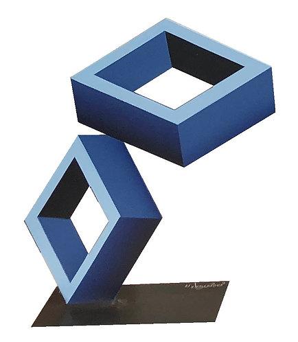 Two Blue Boxes by Daniel Sanseviero