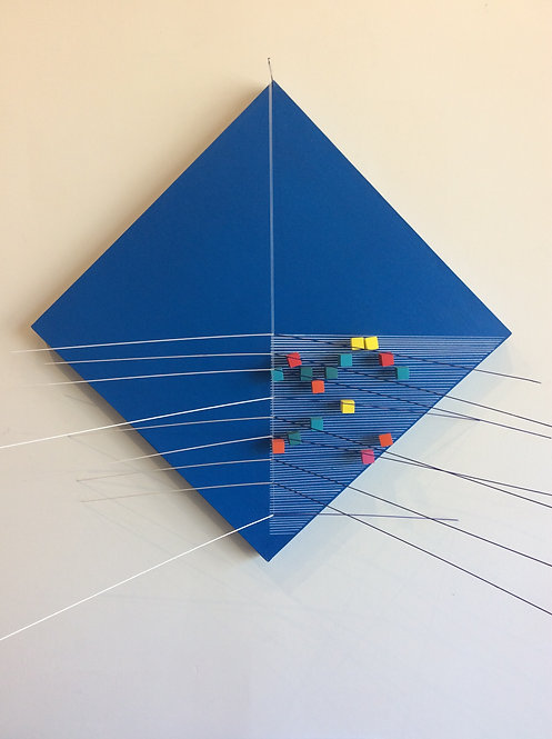 Kinetic Wall Art - Elvis Joan Suarez - Rombo Scriabin