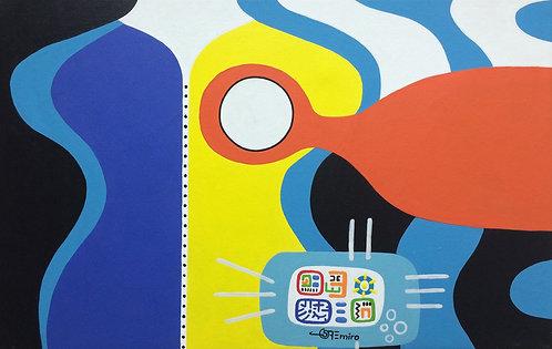 Pop Art Painting - Emiro Ojeda - Maniqui