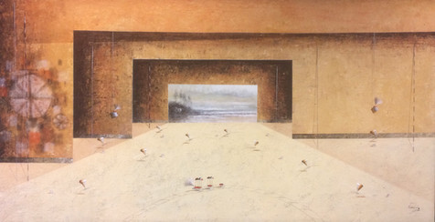 Surrealism Painting - Jose Cordova - Unt