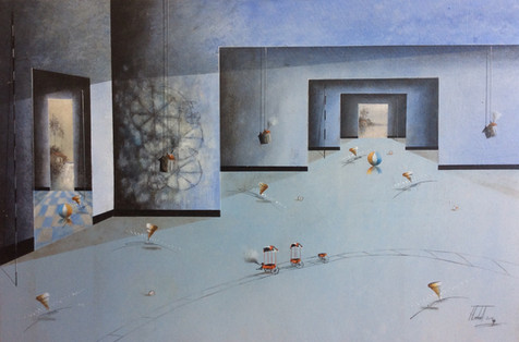 Surrealism Painting - Jose Cordova - Car