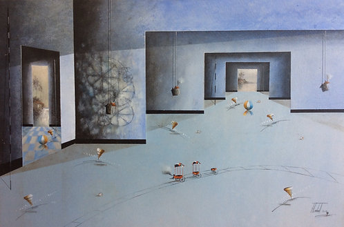 Surrealism Painting - Jose Cordova - Cariaco