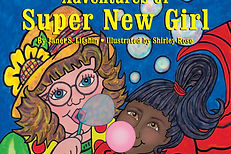 book - Adventures of Super New Girl