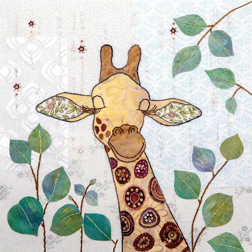Giraffe Cushion Panel