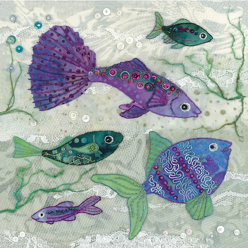 Fish Cushion Panel