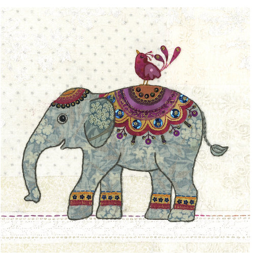 Elephant Cushion Panel