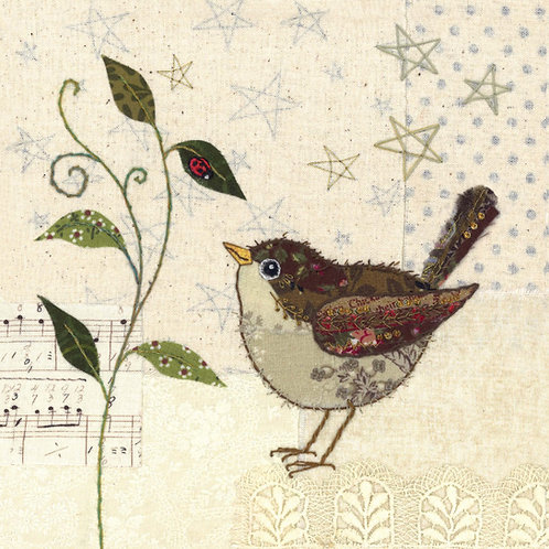 Little Wren Cushion Panel