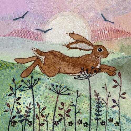 Hare Meadow Cushion Panel