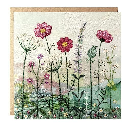 Summer Hedgerow Greetings Card