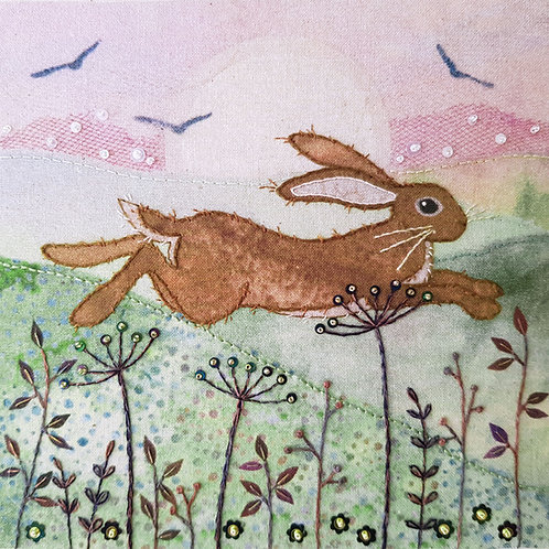 Leaping Hare Stitch Kit