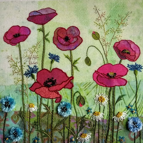 Poppy Meadow Stitch Kit