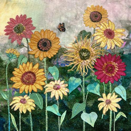 Sunflowers Cushion Panel