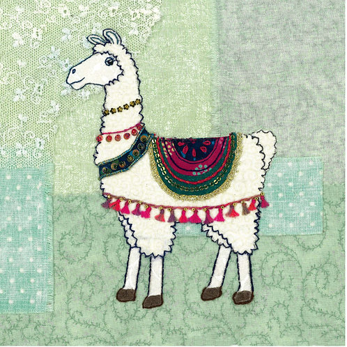 Llama Cushion Panel