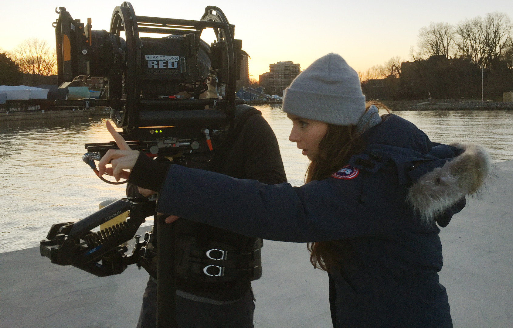 Director / Director of Photography Together