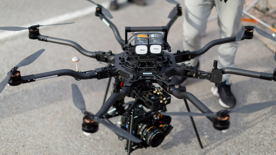 The Freefly ALTA 8 Drone
