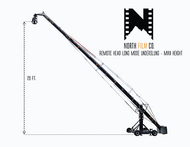 Remote Head Long Mode UnderSlung - Max H