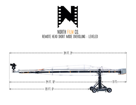 NFC Crane - Remote Head short = levelled