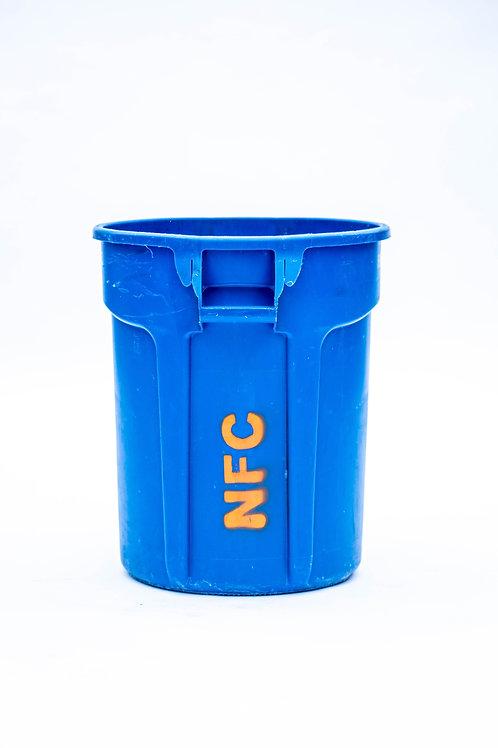 32 Gallon Blue Recycle Bin