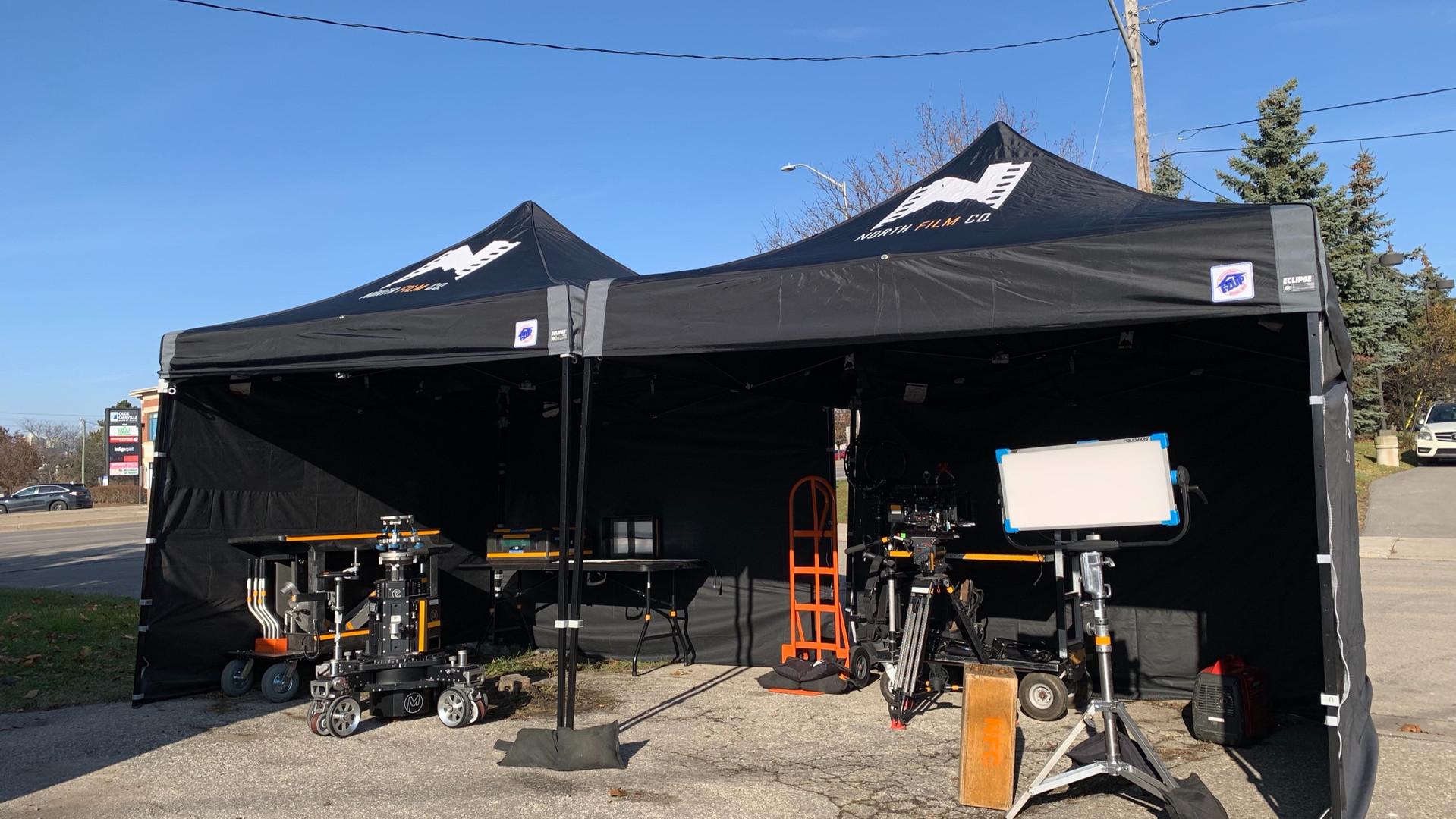 NFC's Locations Tents