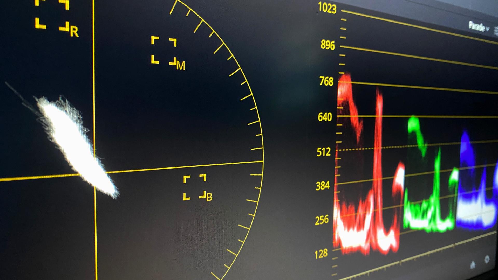 DaVinci Resolve Vectorscopes