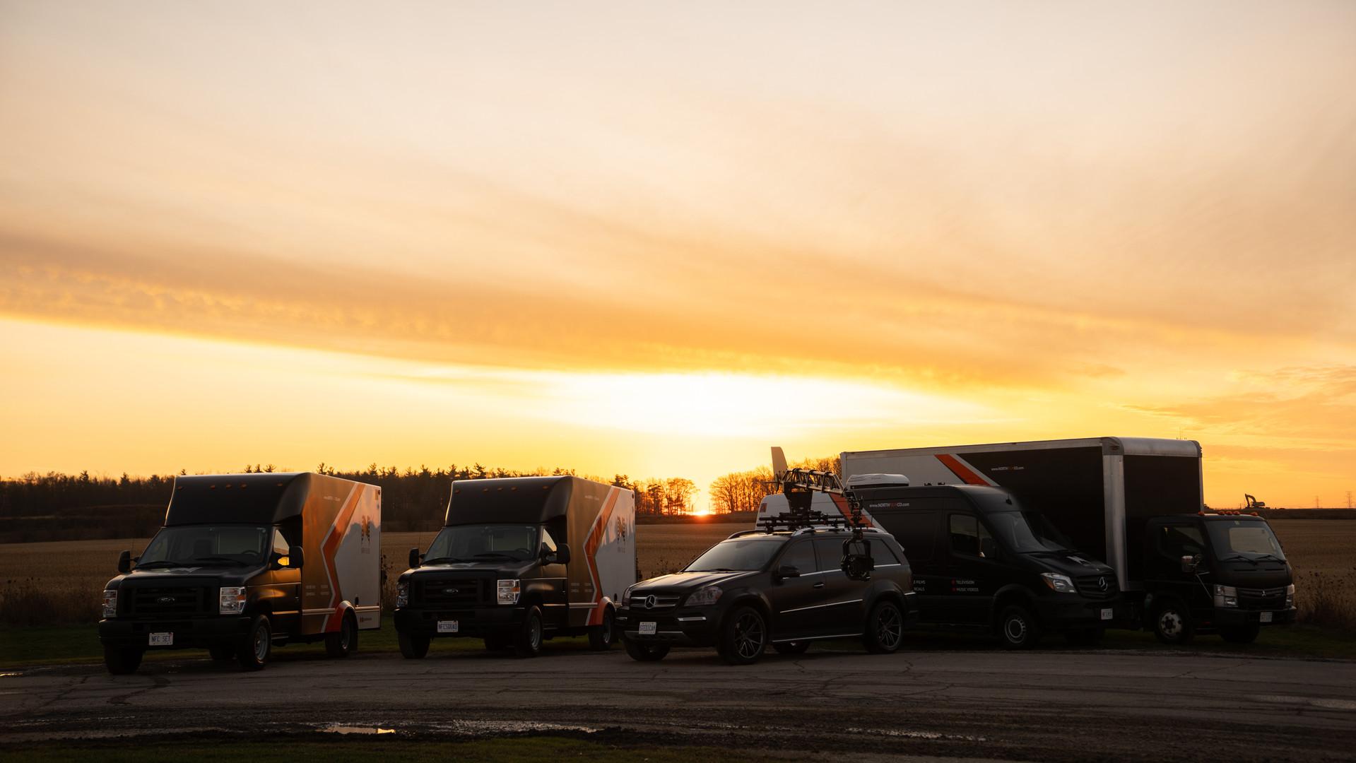 NFC Trucks All Together
