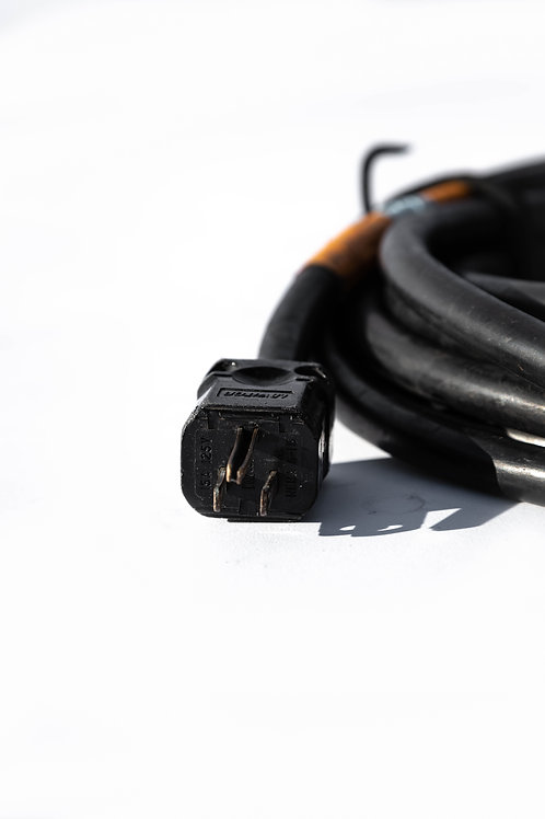 25' AC Power Cable - 8 Gauge