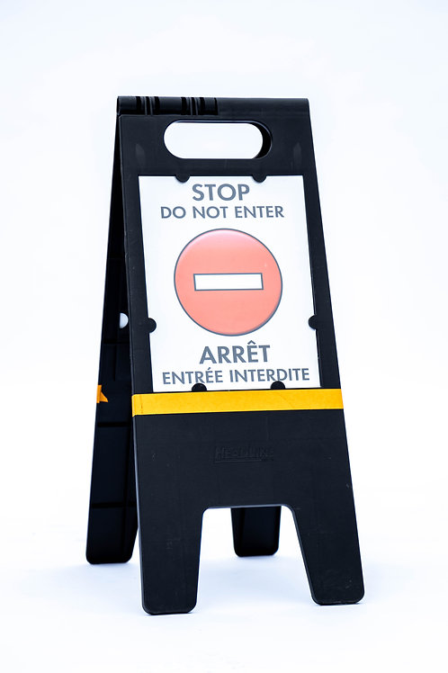 Plastic A Frame Sign