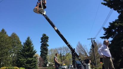 Commercial Crane Setup