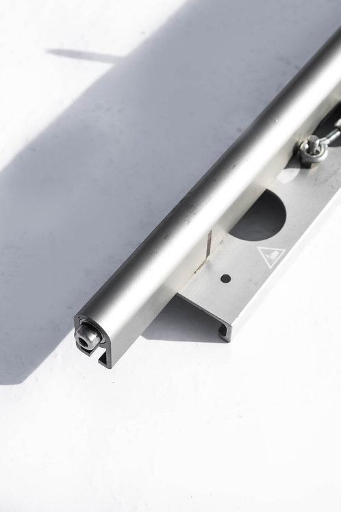 6' Medium Aluminum Track