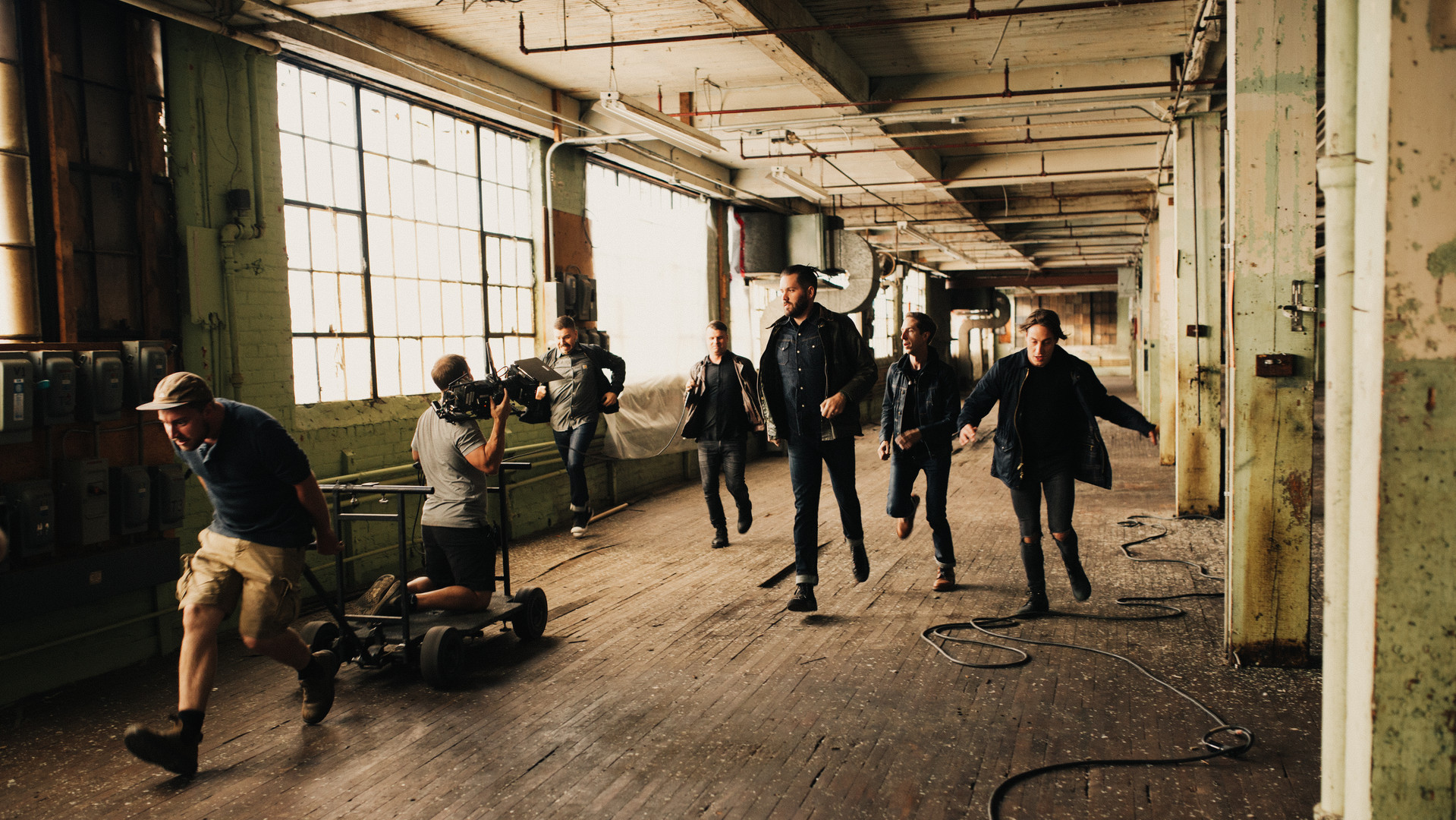 """Behind the Scenes of a Silverstein-""""Ghost"""""""