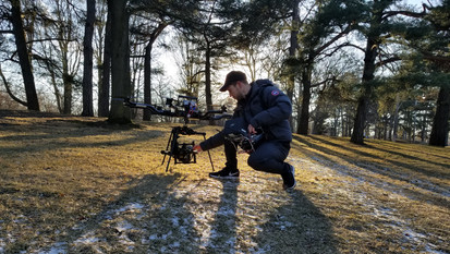 Russ with Drone