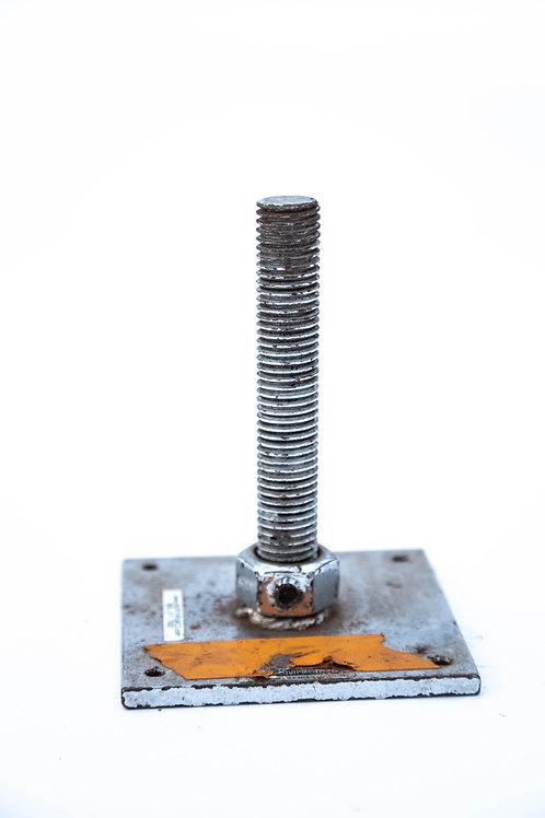 """3/4"""" Threaded Rod Base Plate"""