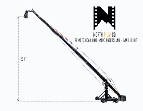 NFC Crane - Remote Head Long = underslun