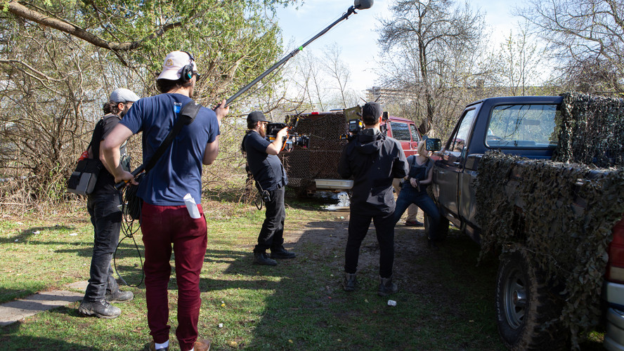 "Behind The Scenes of ""The Hunted"""
