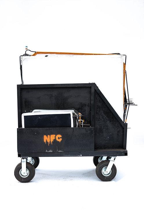 Custom Flag Cart