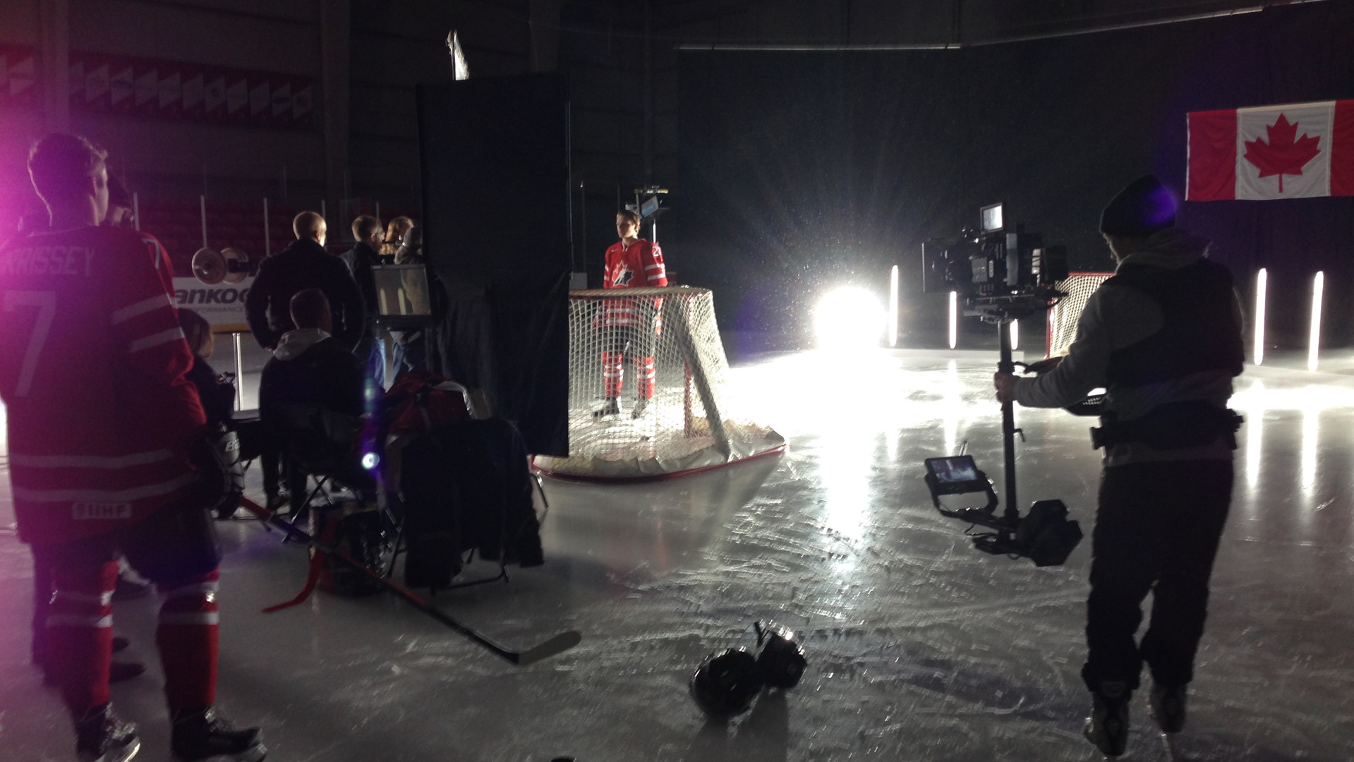 "Behind The Scenes of ""World Jr. Team Canada"""