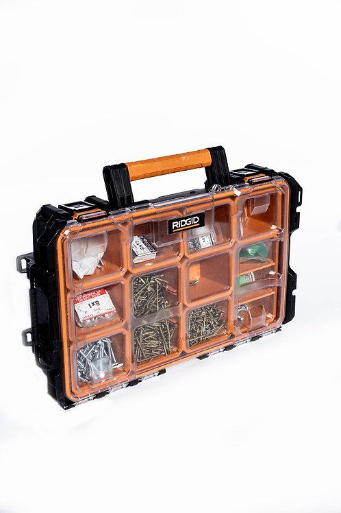 Rigid Pro System Gear 10-Compartment Small Parts Organizer